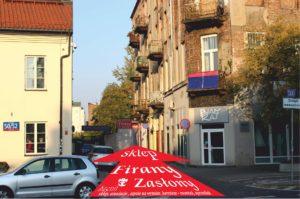 Adres sklepu: Targowa 48 Warszawa przy bramie wejściowej na Bazar Różyckiego obok Muzeum Pragi